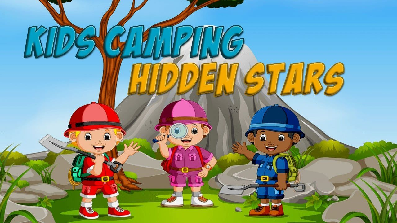 Kids Camping Hidden Stars is a free online skill and hidden object game
