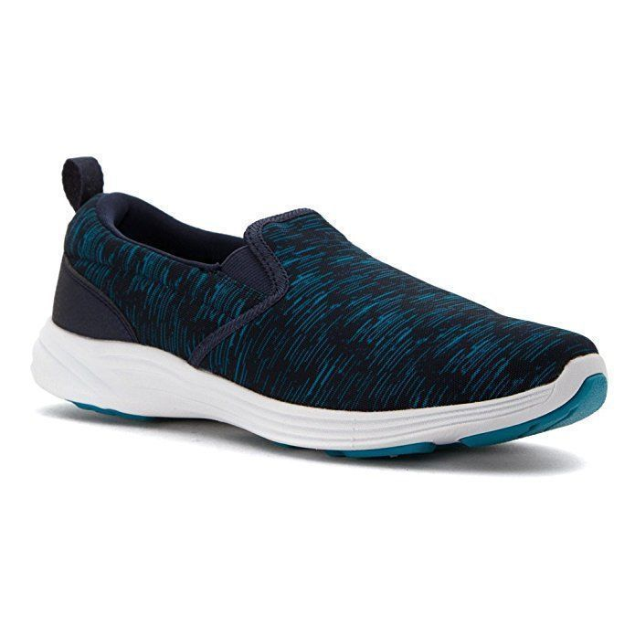 S Sport Skechers Women's Slip On Light Weight Athletic Shoes Sneakers Navy Blue