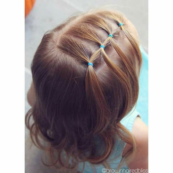 Easy Little Girl Hairstyles Simple Meisje …  Hairstyl…