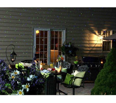 Blisslights Outdoor Indoor Firefly Light Projector With Timer Qvc Com Indoor Christmas Lights Christmas Light Installation Christmas Lights