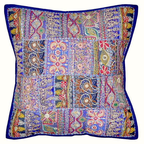 ethnic floor cushions. Perfect Ethnic 20X20 Decorative Tribal Accent Throw Pillow Patchwork Handmade Indian  Ethnic Cottage Pillow Floor Pillow Intended Floor Cushions T
