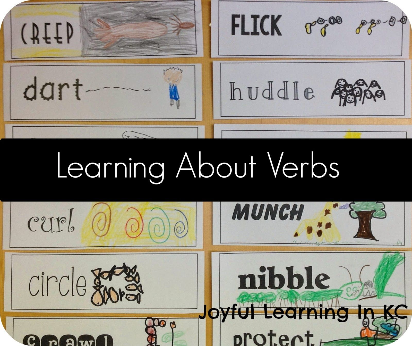 Vivid Verbs With Images