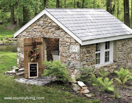 casa de campo de piedra