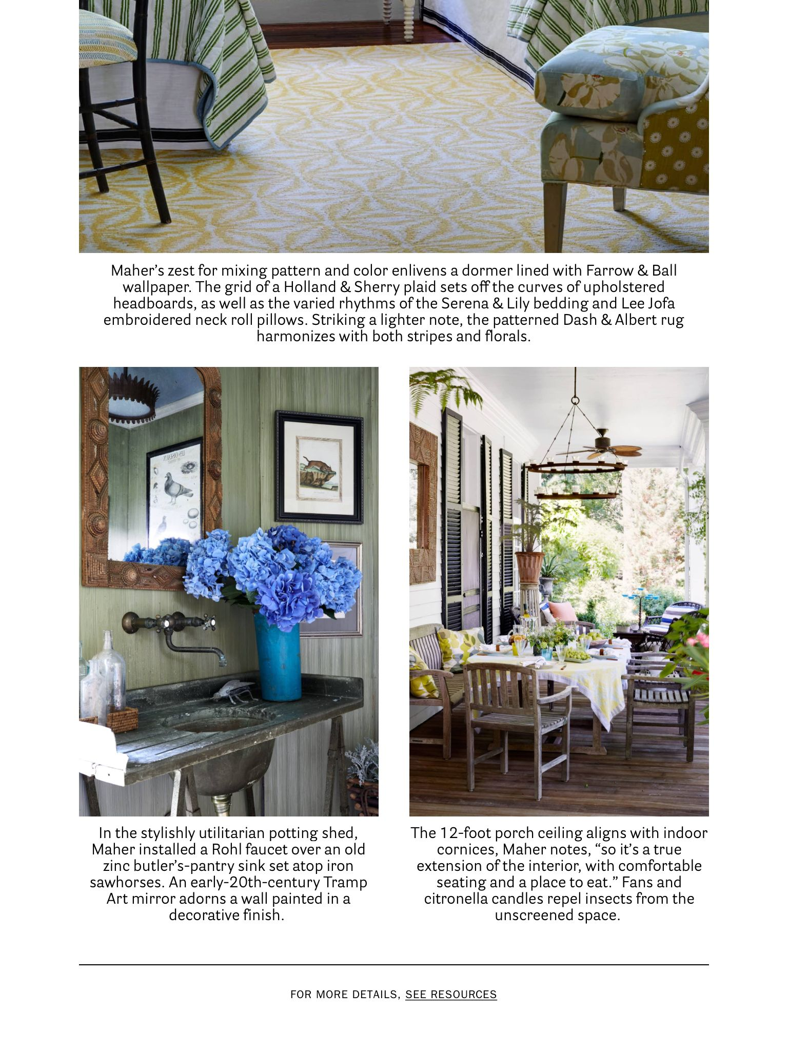 Garden state physical therapy -  Garden State Of Mind Michael Maher From House Beautiful May 2017