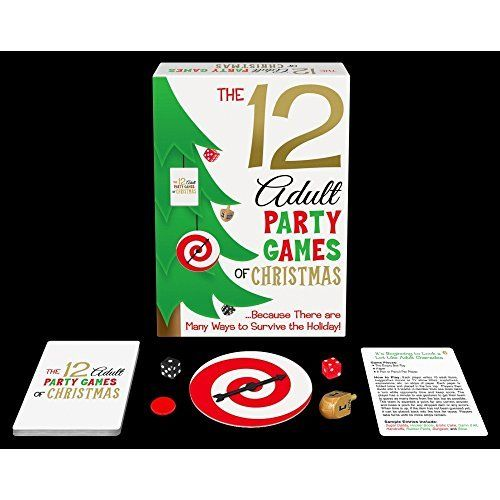 20 Party Games for the Christmas Holidays Party games, Christmas