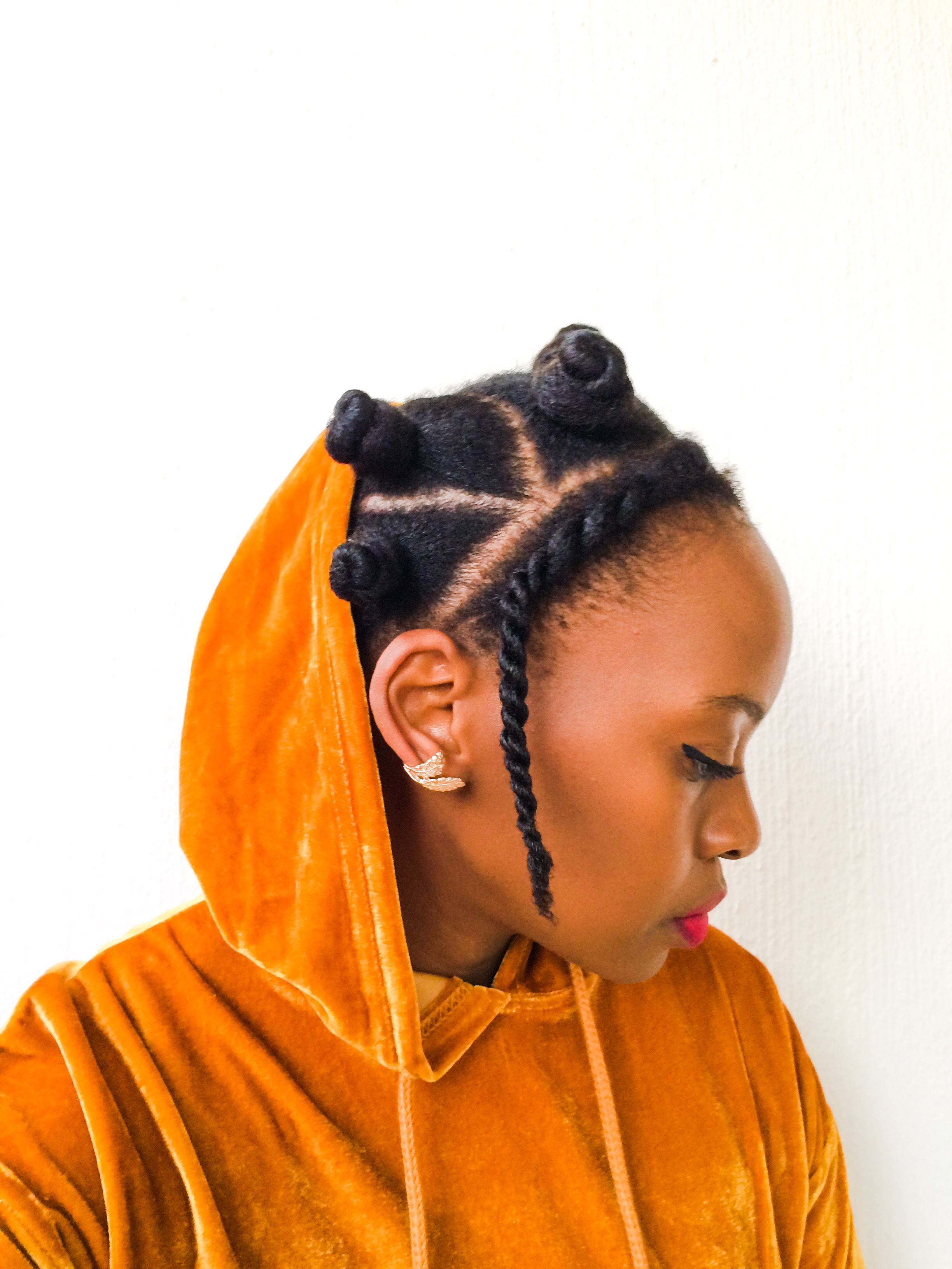 Cheveuxafro 28 Idees De Coiffures Pour Proteger Vos Cheveux Du Froid Coiffuresprotectrices Tressescouchee Cheveuxnatu Idees De Coiffures Coiffure Cheveux
