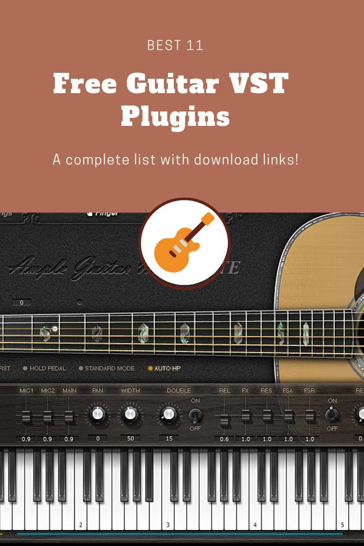 15 Best FREE Guitar VST/AU Plugins that actually sound Great