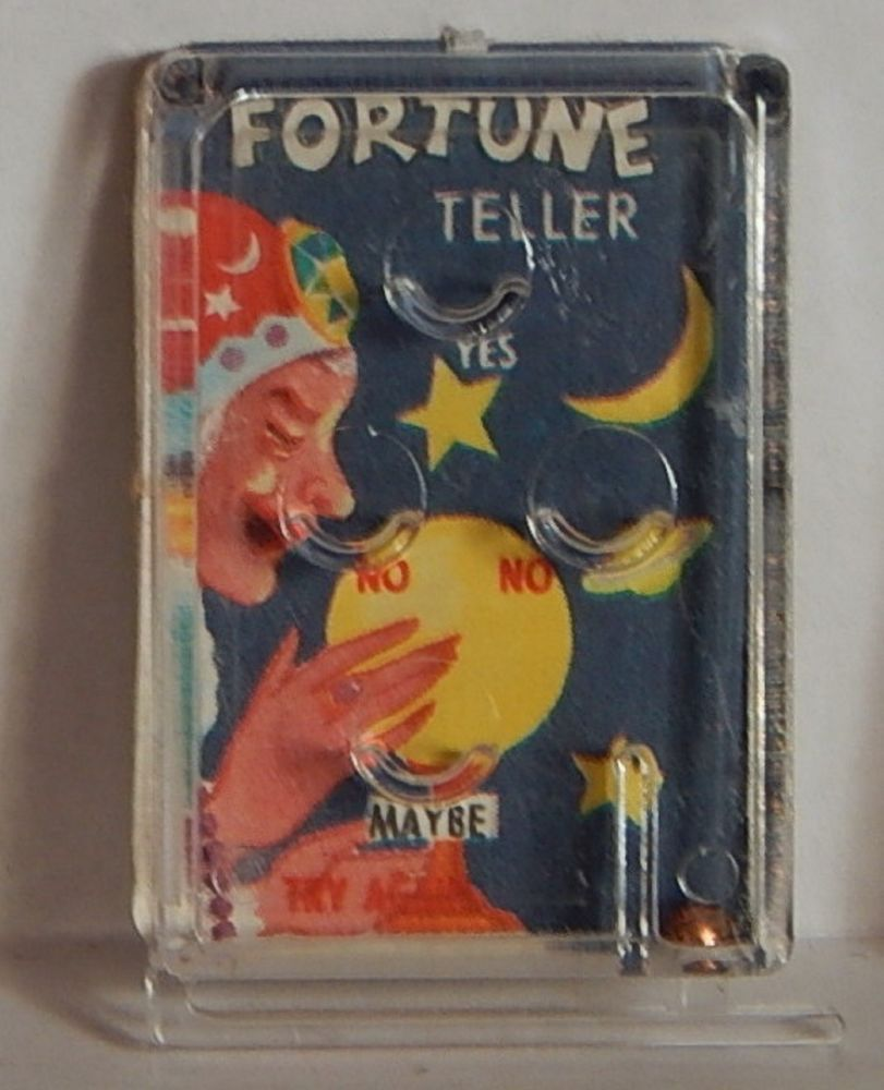 Vintage 1960 Pinball Machine Prize Quot Fortune Teller