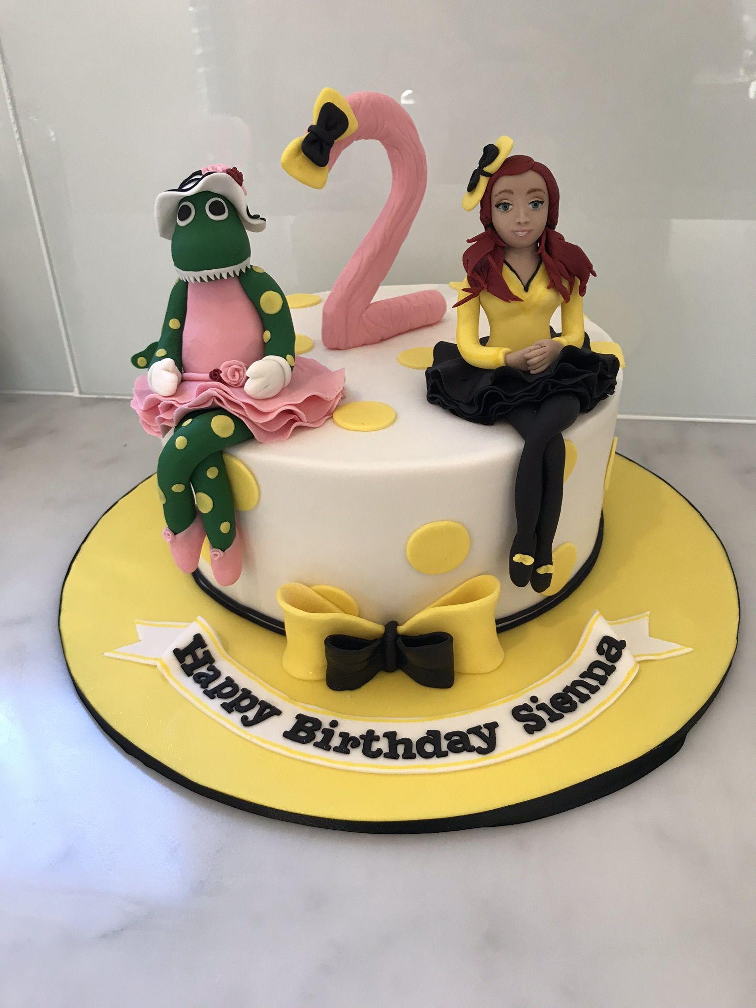 Emma Wiggle Cake Topper