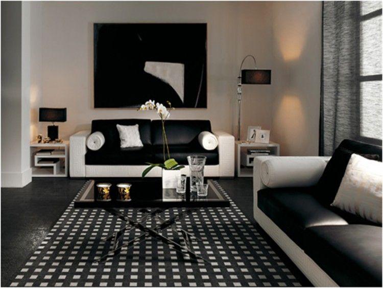 black home decor