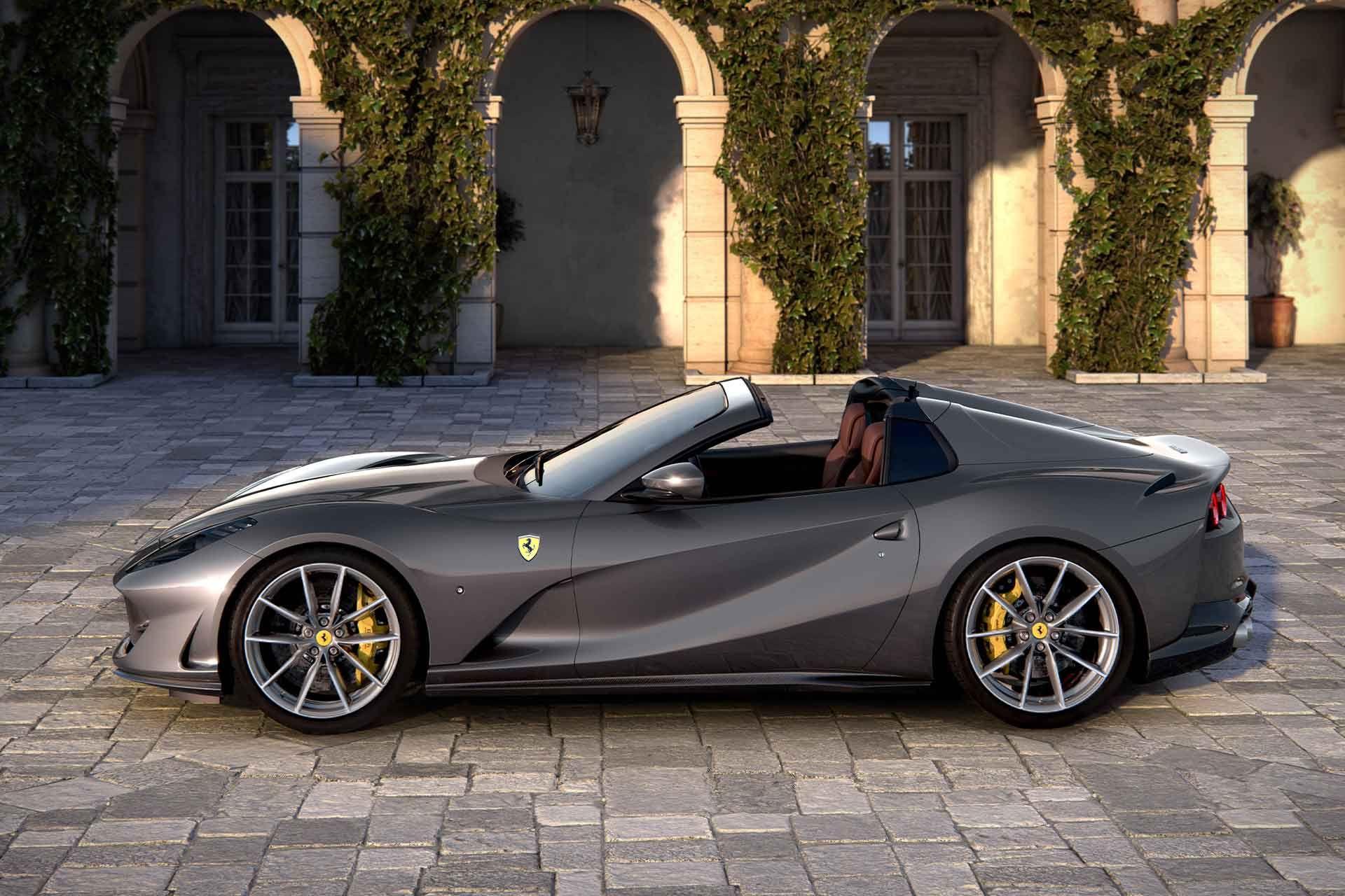 Ferrari 812 Gts Convertible With Images Ferrari Convertible