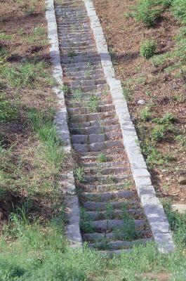 How To Form Concrete Steps Down A Steep Hill