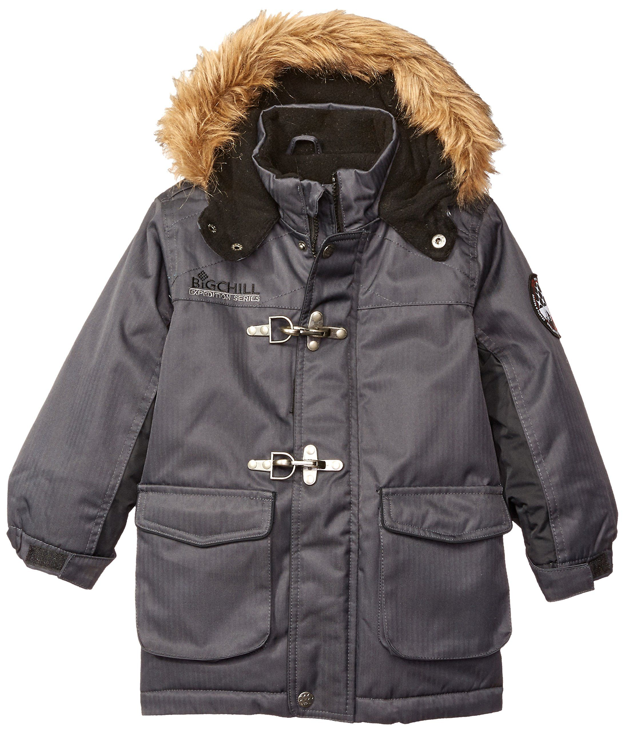 9d89e3c7ef666 ... Down Alternative by Kids World. Big Chill Little Boys  Toggle  Expedition Jacket