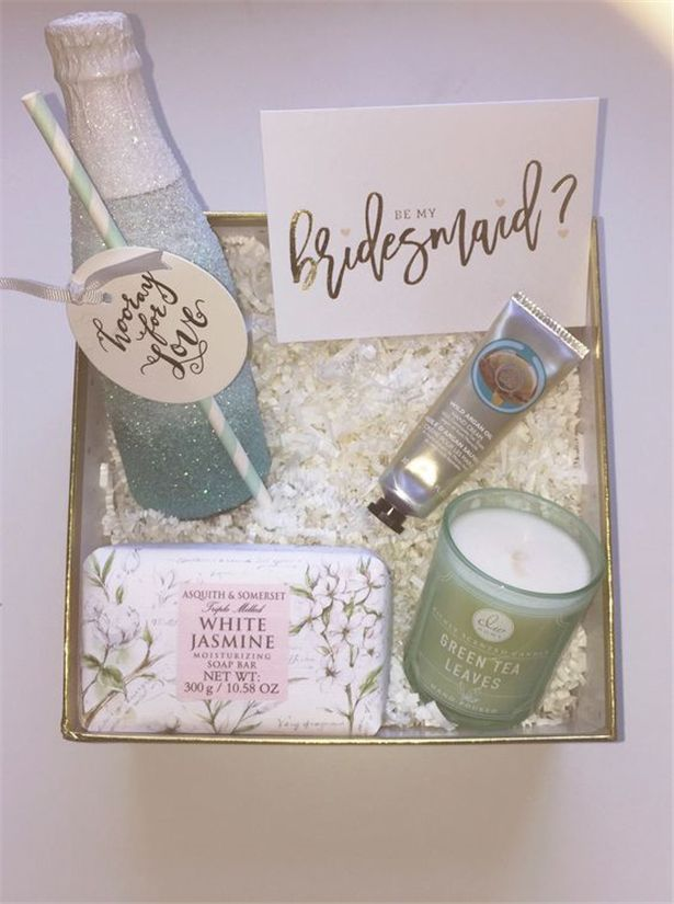 Themed Gift Box Ideas : Latest will you be my bridesmaid ideas box gift and