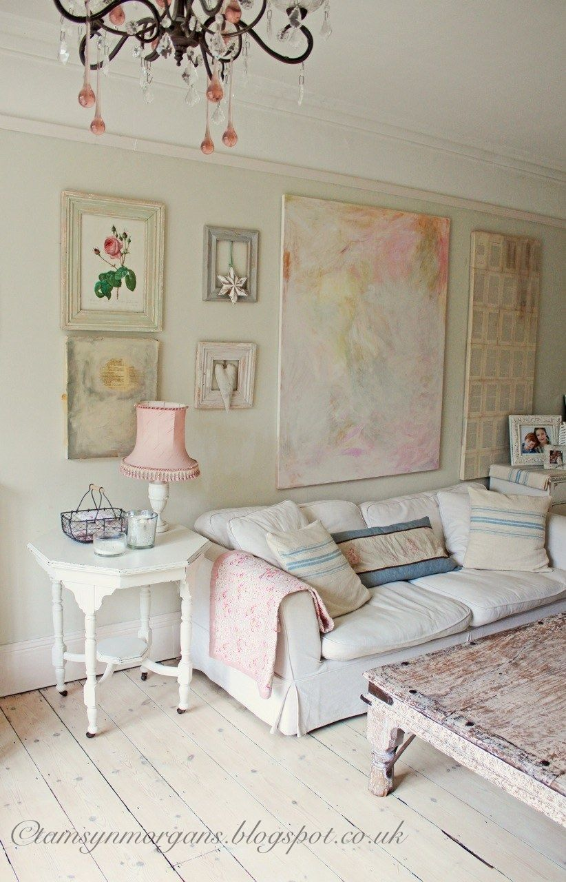 The Villa on Mount Pleasant: My Shabby Chic Living Room...