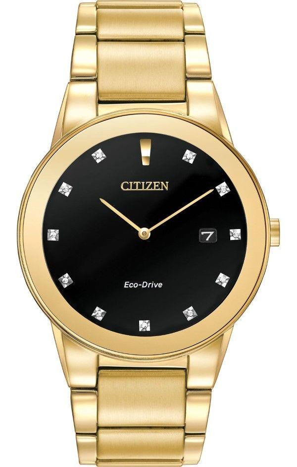 2bc32bafa Men's watches : Citizen Men's AU1062-56G Axiom Analog Display Japanese  Quartz Gold Watch