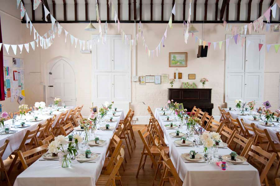 Amy Jonathans Cute Vintage Village Hall Wedding Wedding Venue