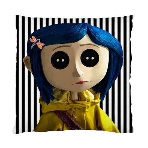 Button Eyes Pillow Cushion Case Coraline Aesthetic Coraline Creepy Decor