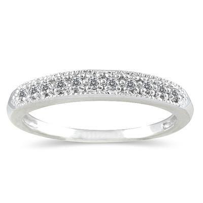 1 10 Carat Diamond Wedding Band In 10k White Gold Rgf123407 0 With Images Diamond Wedding Bands Diamond Fashion Rings Beautiful Diamond Rings