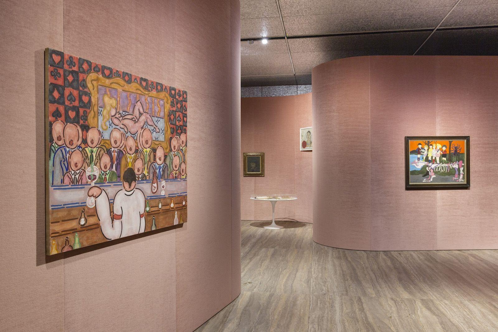 I+nudi+pop+di+William+N.+Copley's+in+mostra+a+Fondazione+Prada