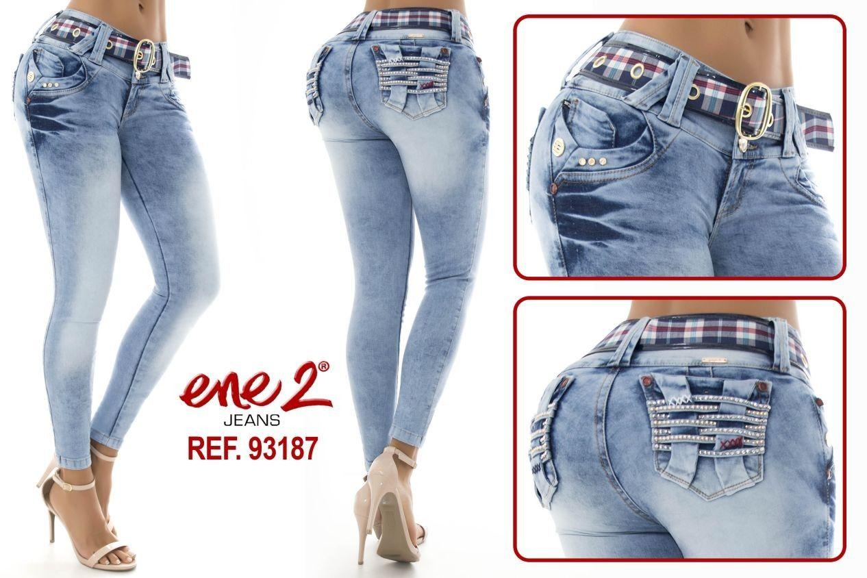 Pantalón Colombiano 93187 Pantalones Colombianos Jeans De Moda Ropa