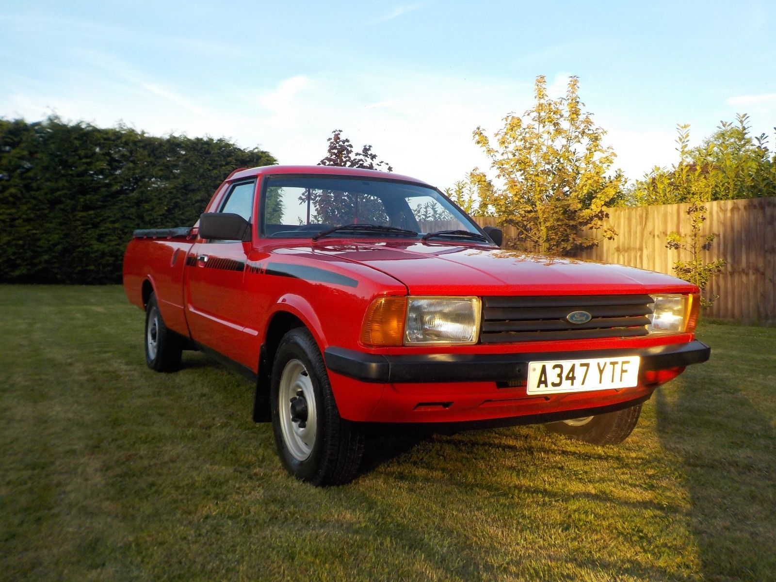1983 Ford P100 Pick Up Uk Spec Indianer