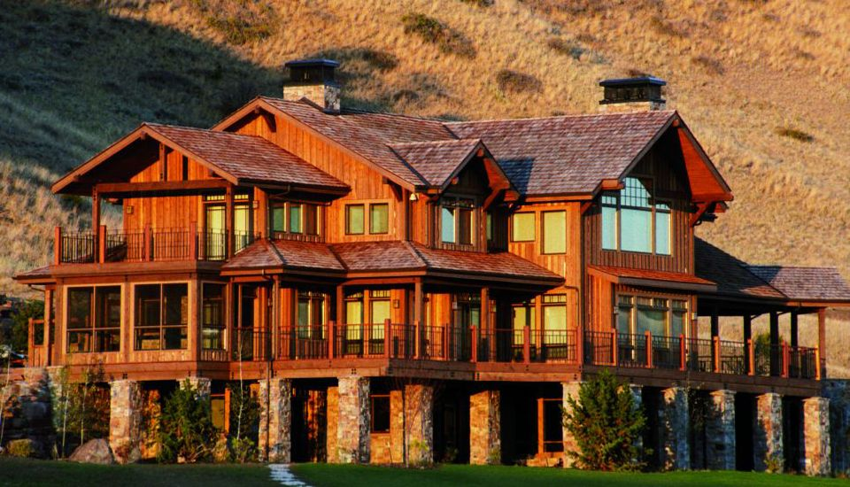 Image gallery hunting resorts for Montana fishing lodges