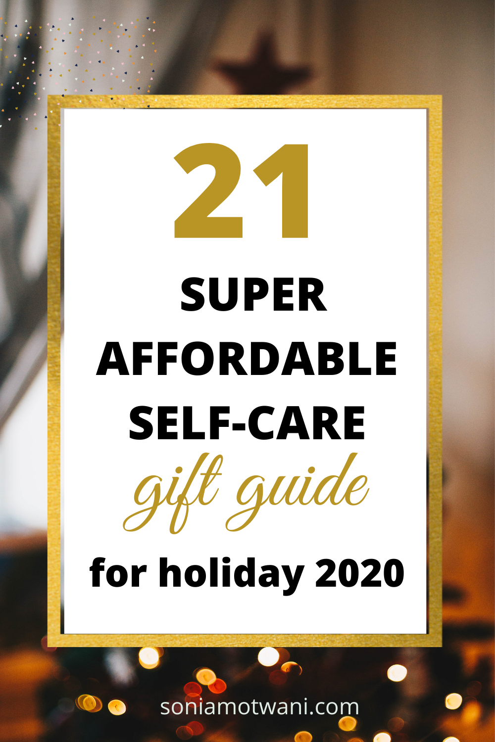 The best selfcare giftguide for the holiday season in