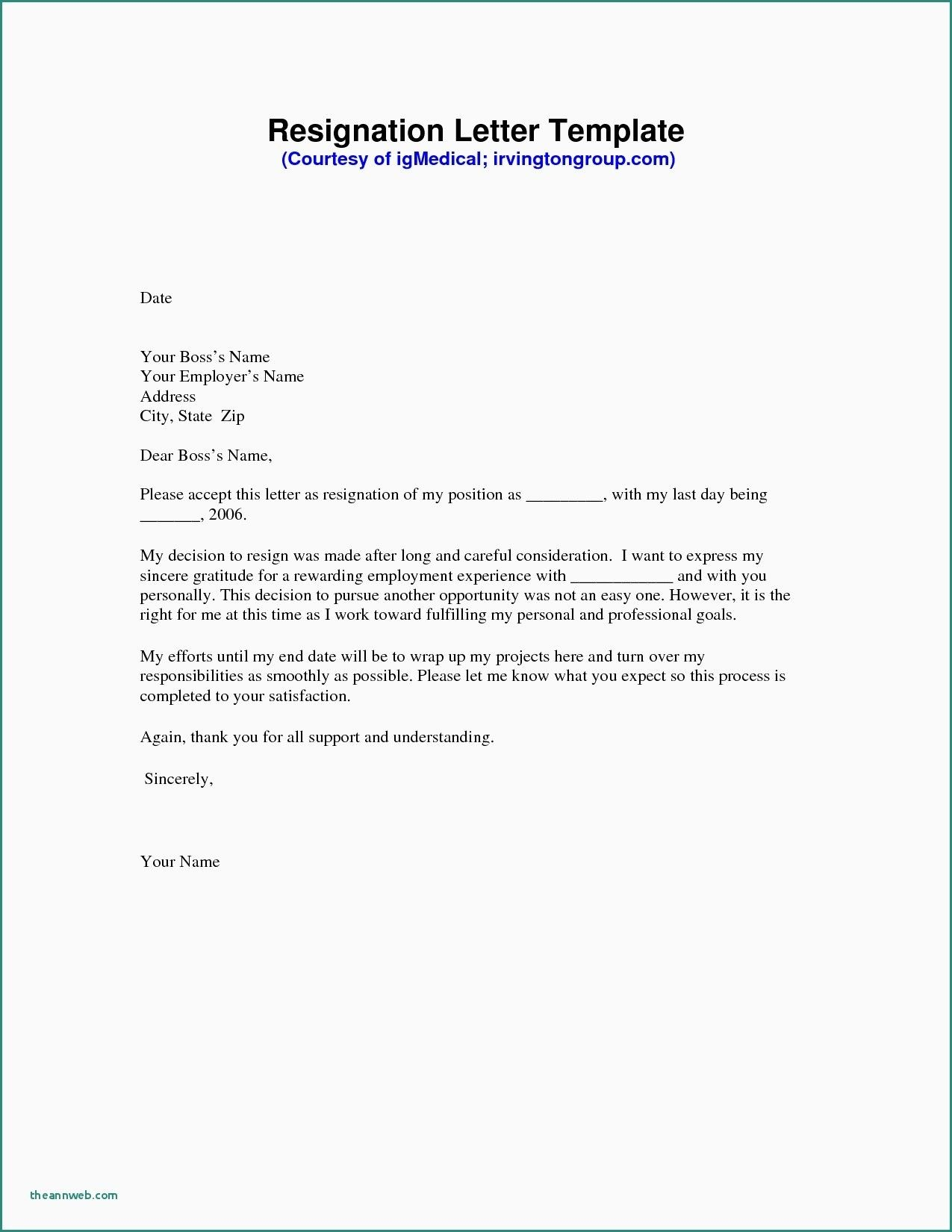New Resignation Letter From Maternity Leave Resignation Template