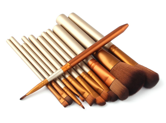 12PCS Makeup Brushes Professional Make Up Brush Set pincel