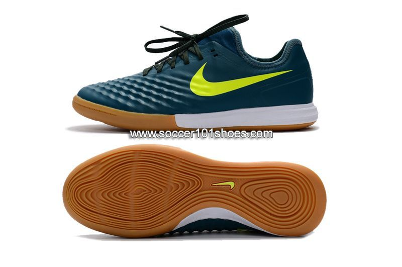 best service 18536 ff6cc Nike Men s MagistaX Finale II IC Indoor Soccer Football Shoes Dark Green   73.00