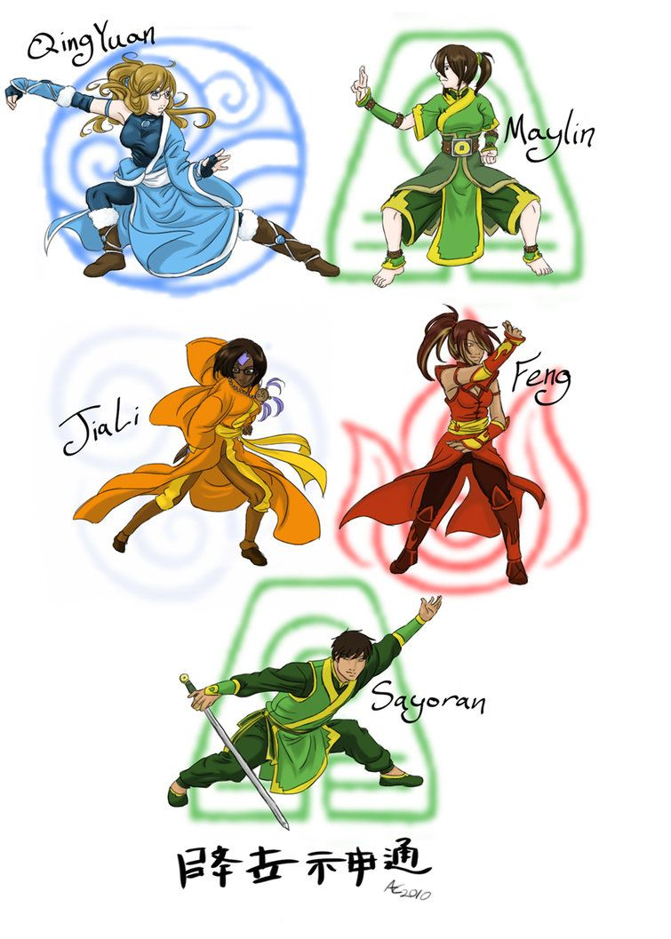 Avatar The Last Airbender Ocs By Tehp Wingavenger Avatar The Last