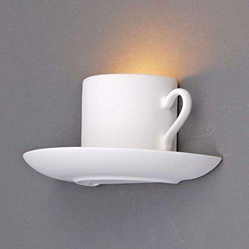 Qazqa design moderne applique murale gipsy coffee plâtre céramique autres compatible pour led g9 max 1 x 40 watt luminaire lumiere éclairage