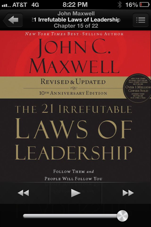 Great read for leaders