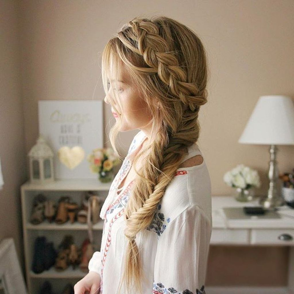 40 Simple Braid Styles Youll Ever Need To Master - TILEPENDANT #sidebraidhairstyles