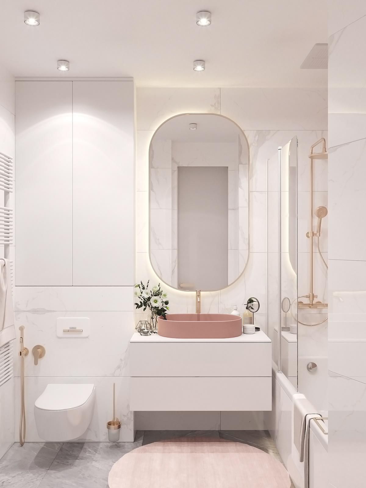 Photo of Moscow project Plan A #bathroom #bathroom #bathroom accessories #bathroom decor …
