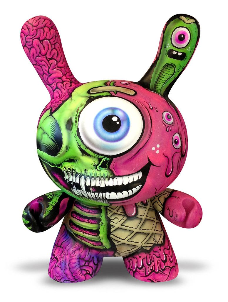 LOOOVE BUFF MONSTER || Custom Giant Kidrobot Dunny | HALLOW 15 ...
