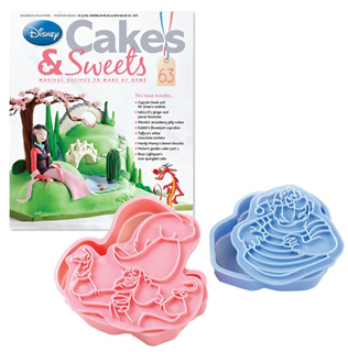 Disney Cakes Sweets With Captain Hook Smee Cookie Cutters