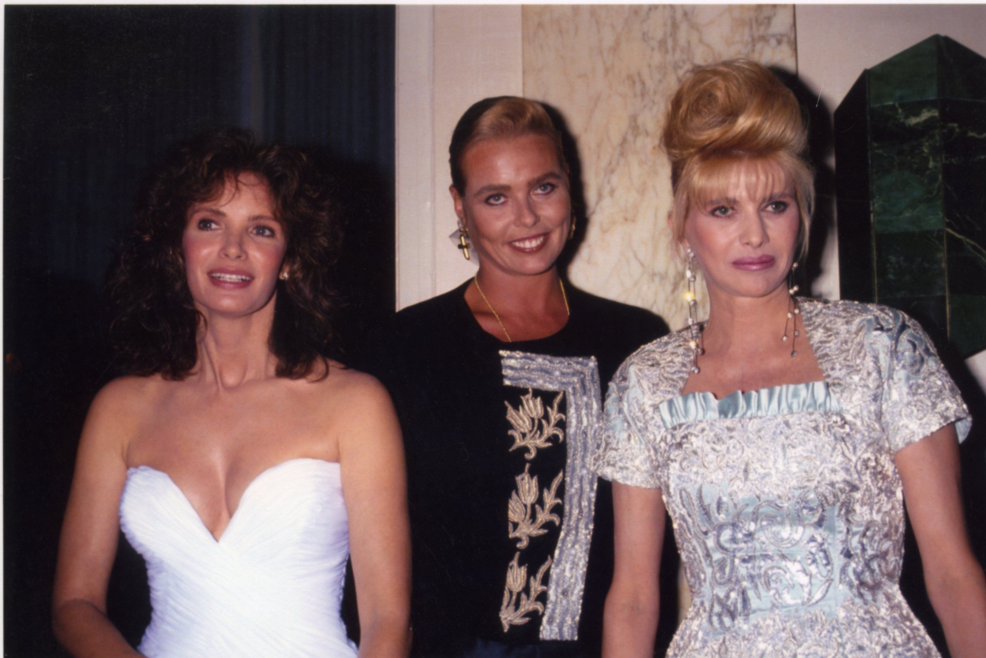 Jaclyn Smith, Margeaux Hemingway and Ivana Trump
