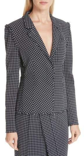 40667c7bd5 Jason Wu Wool Check Jacket | Products | Jackets, Jackets online ...