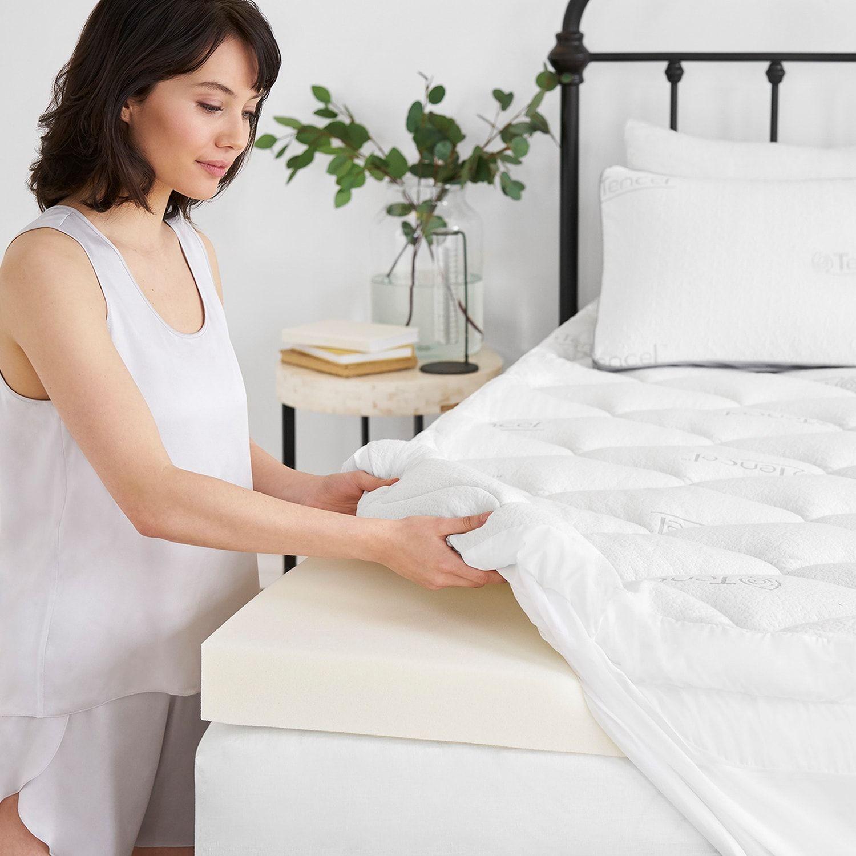 Serta Comfortplus Pillow Top Memory Foam Luxury Mattress Topper Affiliate Pillow Sponsored Top Serta Luxury Mattresses Mattress Topper Pillow Top