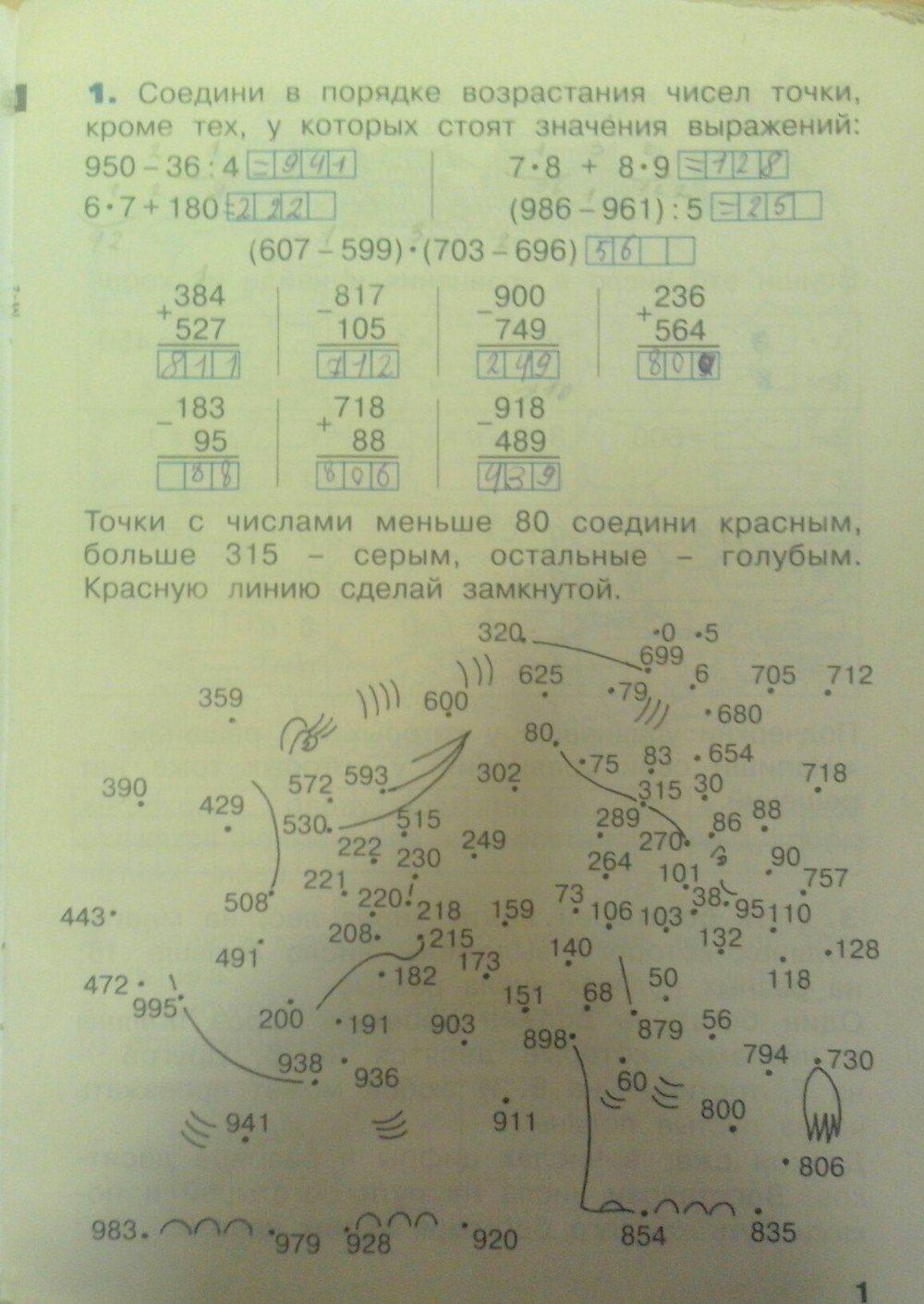 Математика бененсон итина 3 класс рабочая тетрадь