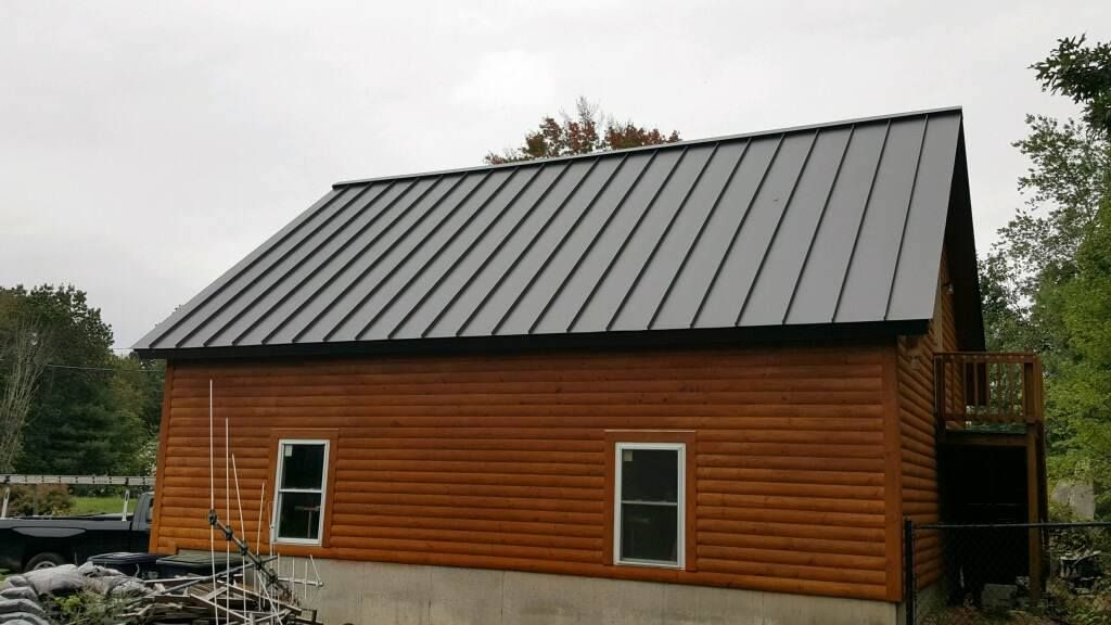 Standing Seam Classic Metal Roofs Llc Stow Ma Metal Roof Colors Standing Seam Metal Roof