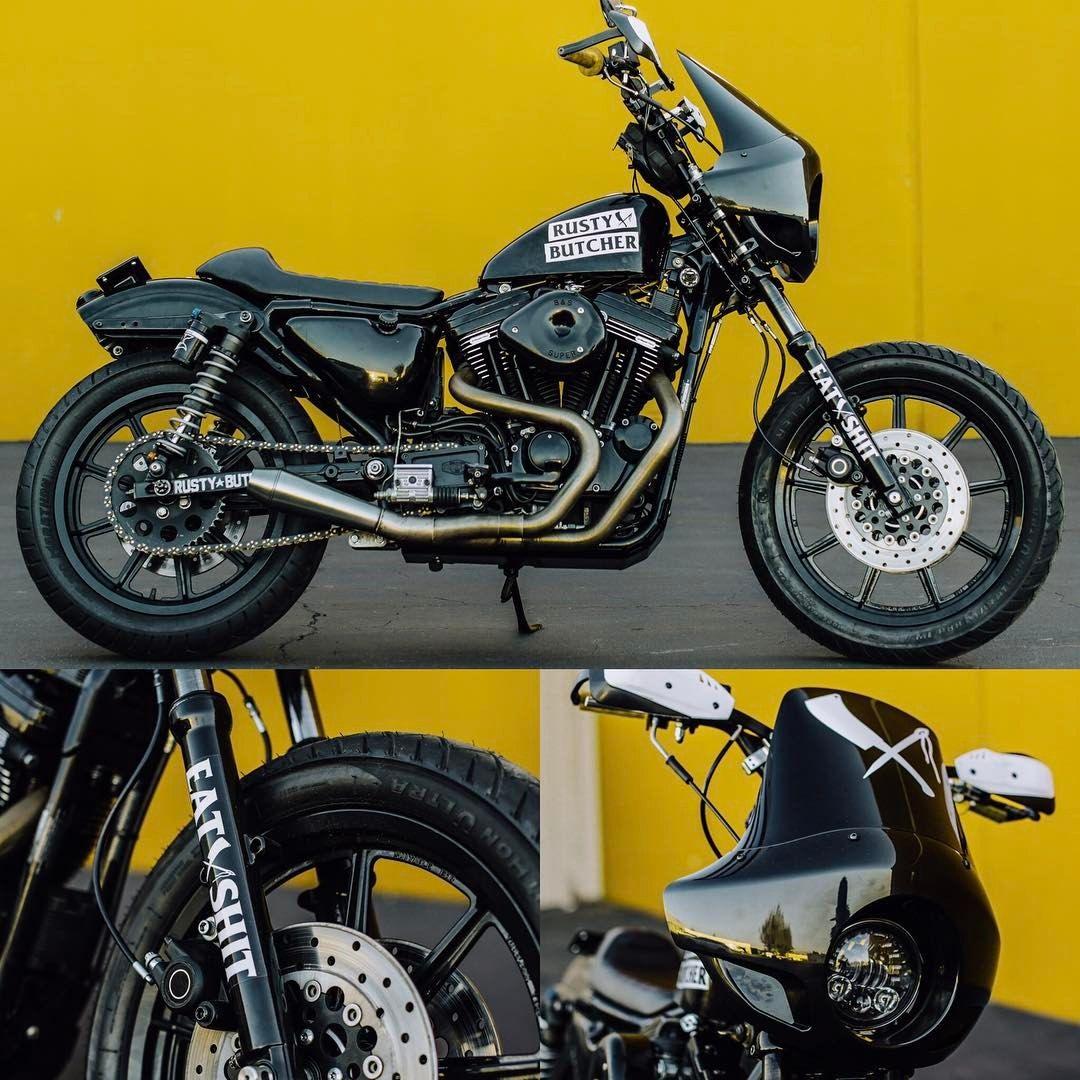 Custom Harley-Davidson XL Sportster 1991-2003 by Rusty