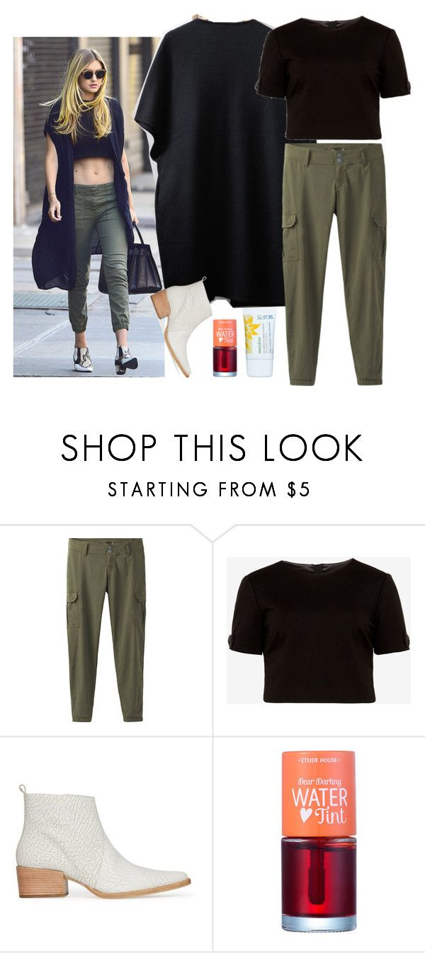 """""""Mysterious in Black. ⚫⚫⚫"""" by niniko-cosmetics ❤ liked on Polyvore featuring prAna, Ted Baker, Etude House and Innisfree"""