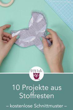 Photo of DIY-Projekte aus Stoffresten, Lederresten, Kunstleder und Kork mit kostenlosen …