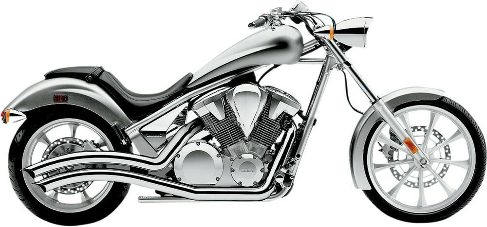 Advertisement eBay) Cobra Chrome Speedster Swept Exhaust For