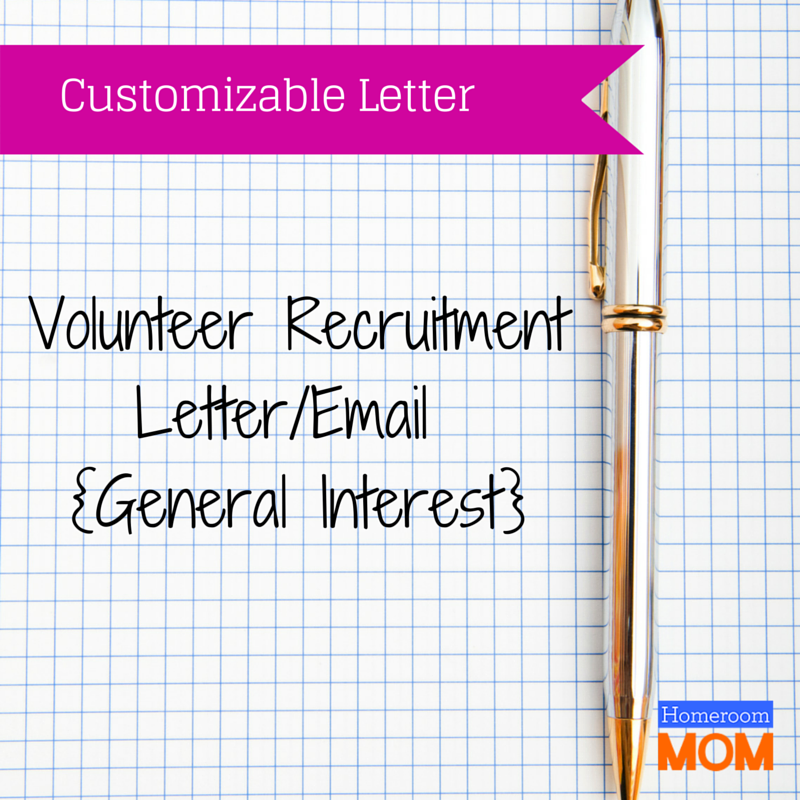 Letters flyers forms clipart downloadables pinterest free general interest volunteer recruitment letteremail free printable thecheapjerseys Gallery