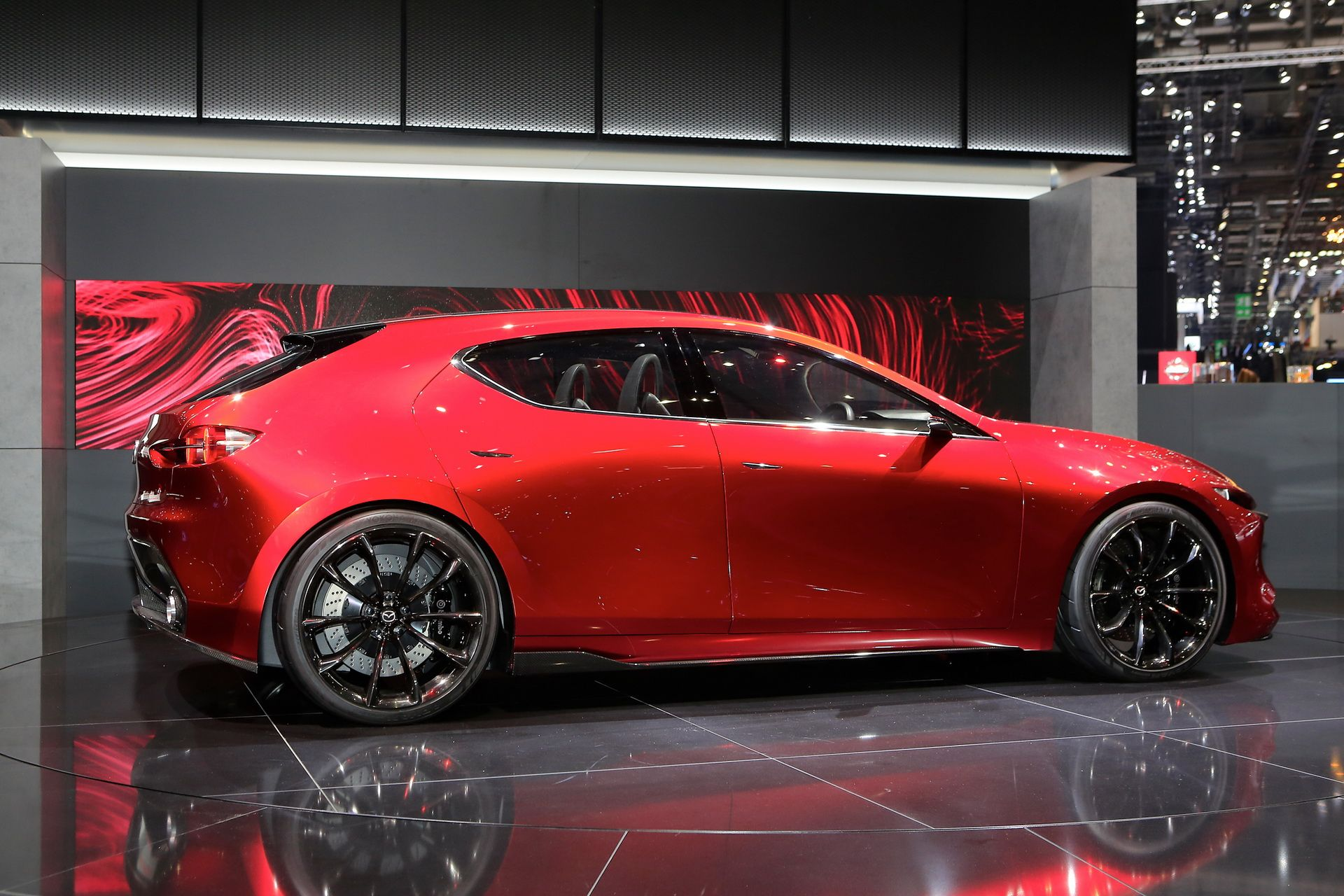 Kai Concept Goes To Geneva To Get Our Hopes Up For New Mazda3 Carscoops In 2020 Mazda 3 Mazda Cars Mazda Hatchback