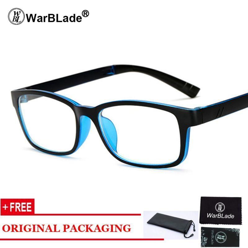 0cfb57058b Retro rectangle eyeglasses optical frames clear lens black blue glasses  leopard square eyewear spectacle frames for women men  alloy  women  solid   eyewear ...